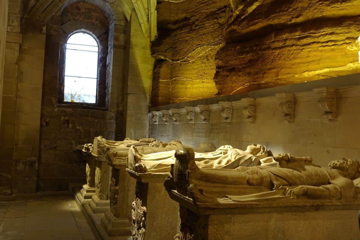 Un recorrido por el Monasterio de Santa María La Real de Nájera