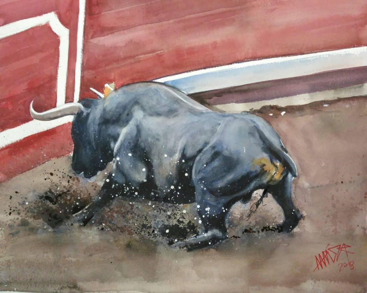 Uríszar lleva su pasión por los toros a Madrid 2