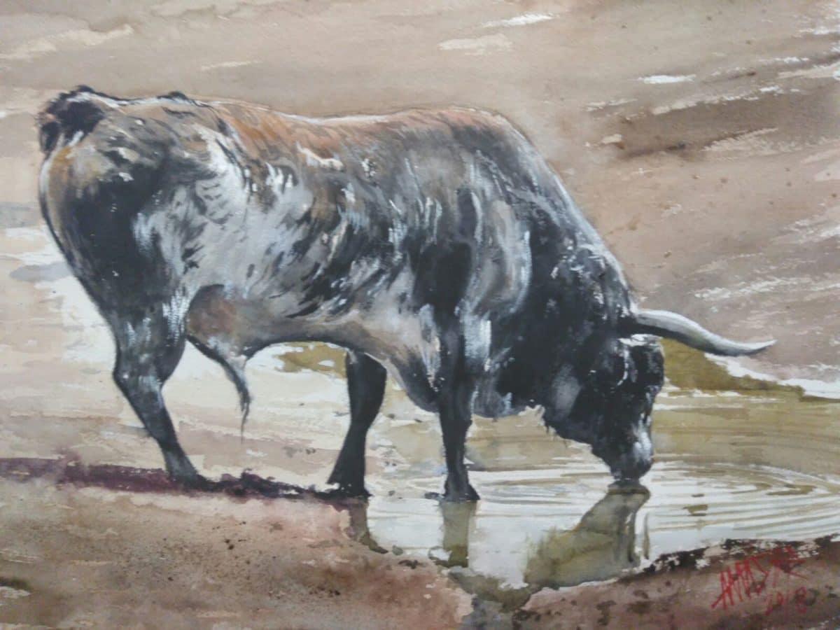 Uríszar lleva su pasión por los toros a Madrid 3