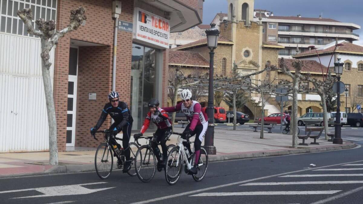 Arrancan las salidas cicloturistas del Club Ciclista Harense 1