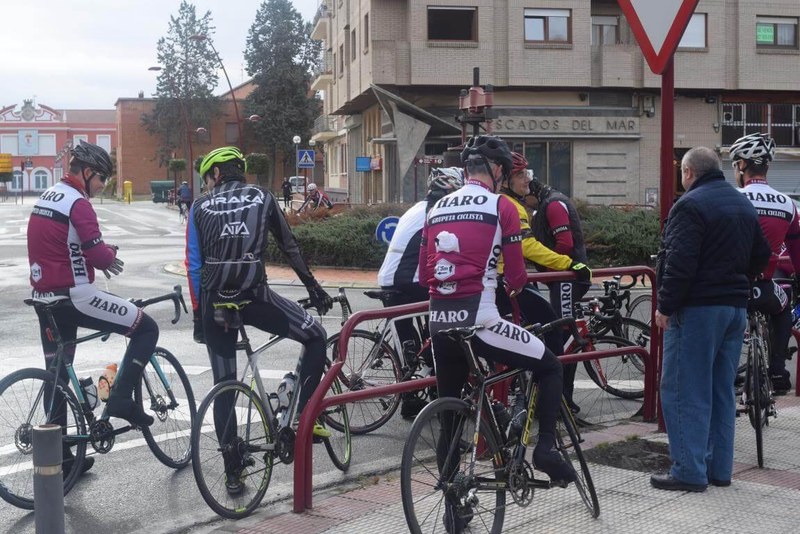 Arrancan las salidas cicloturistas del Club Ciclista Harense 3