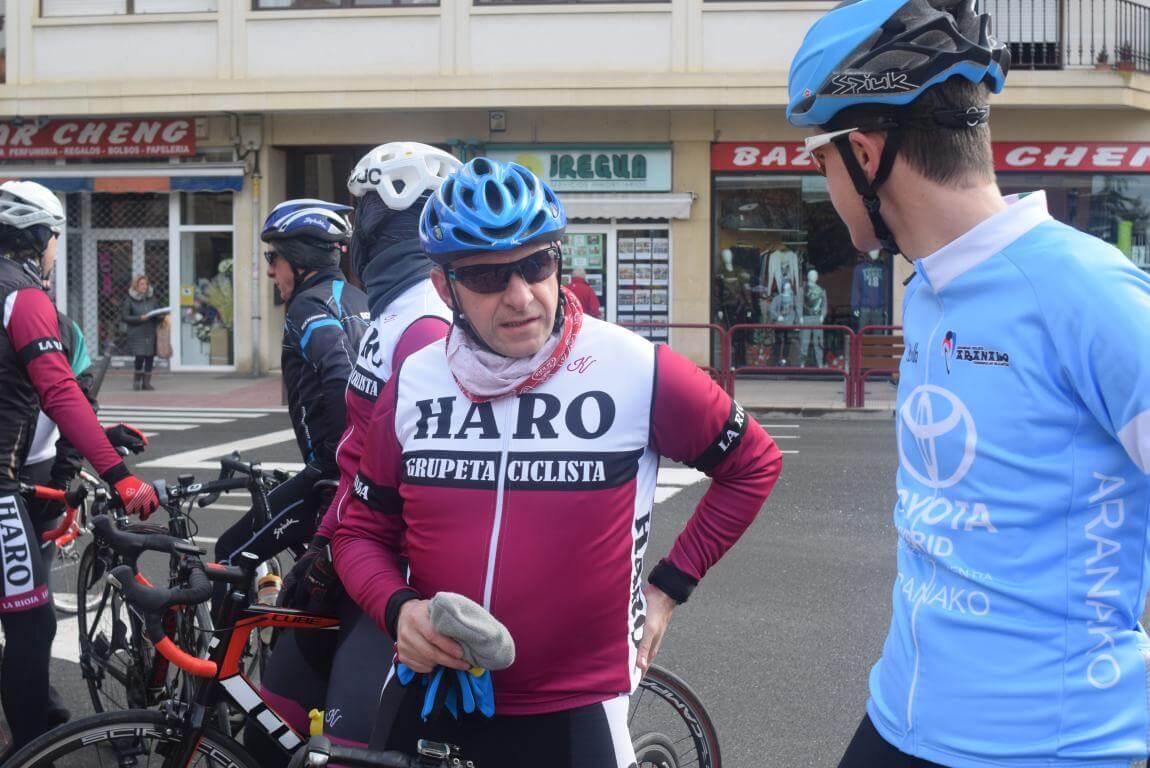 Arrancan las salidas cicloturistas del Club Ciclista Harense 4