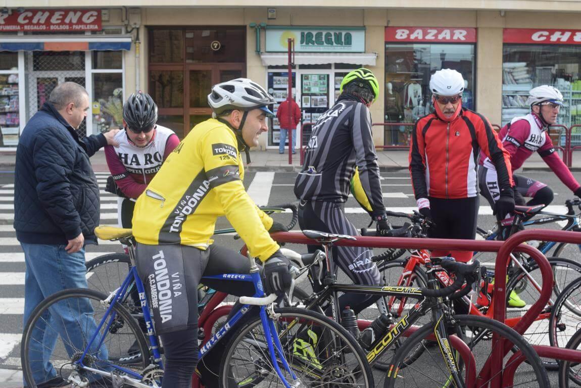 Arrancan las salidas cicloturistas del Club Ciclista Harense 5