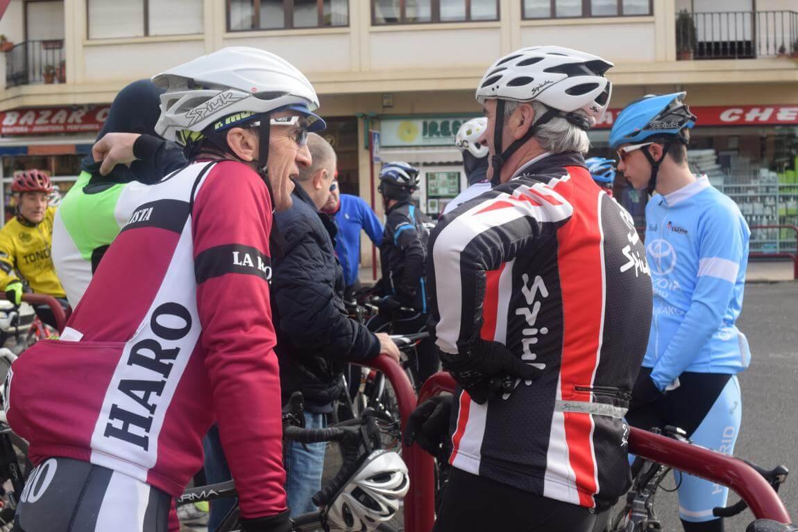 Arrancan las salidas cicloturistas del Club Ciclista Harense 7