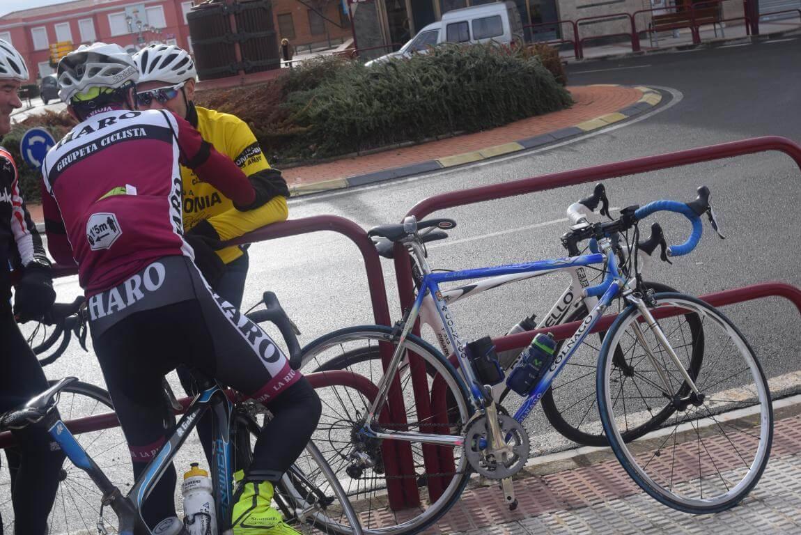 Arrancan las salidas cicloturistas del Club Ciclista Harense 8