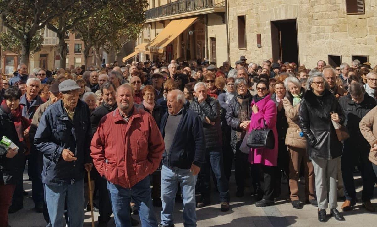 Cientos de personas se manifiestan en Haro y Nájera por unas pensiones dignas 4