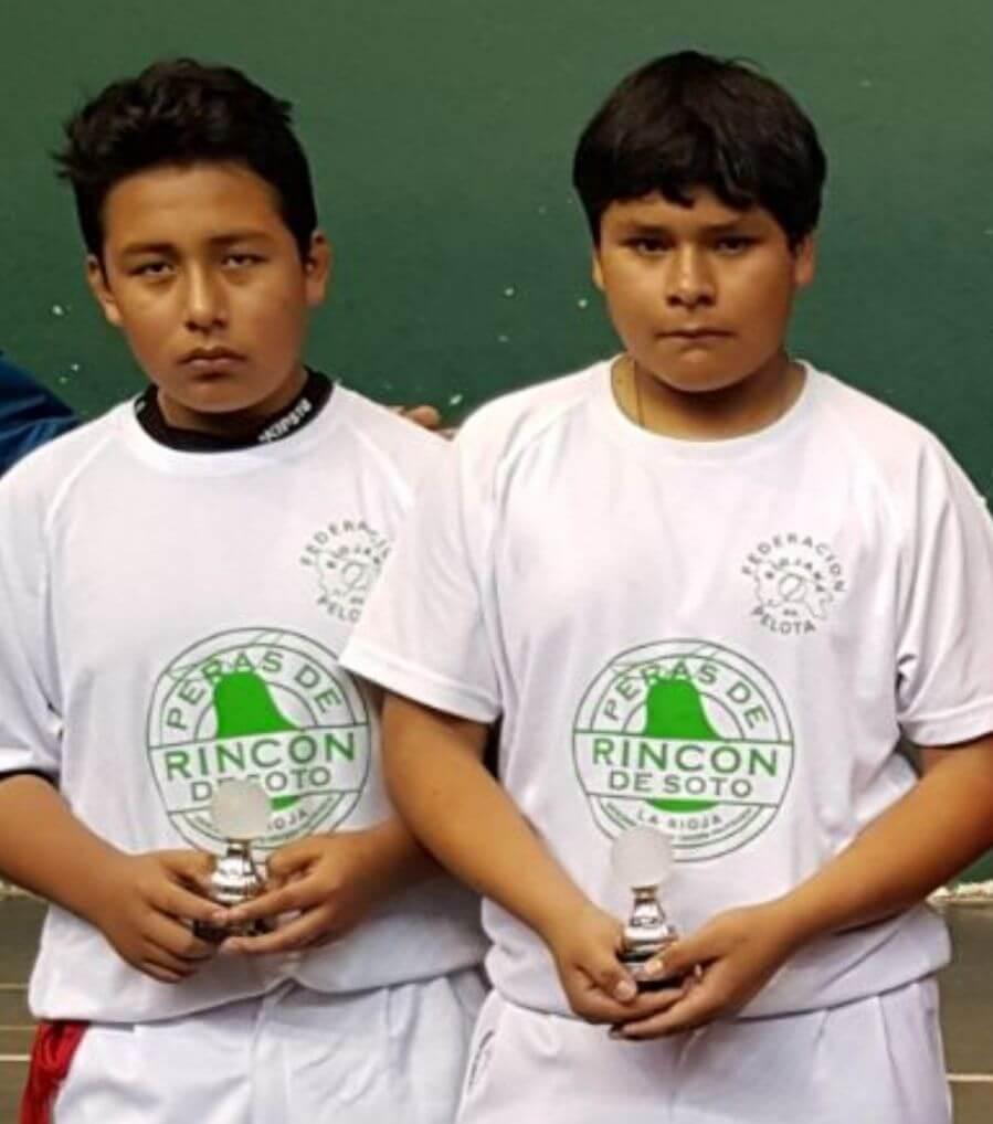 El Ferial acogerá este sábado partidos del Torneo de Pelota Fundación Caja Rioja 3