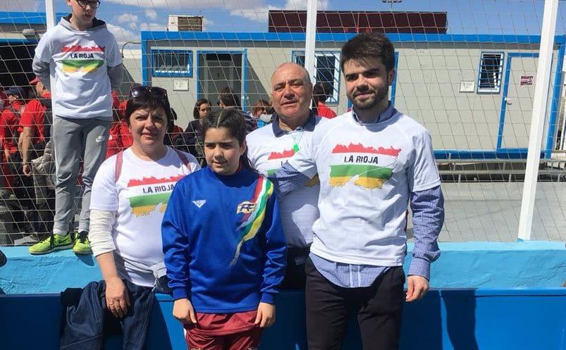 El paso de Ana Carvalho y Lara Rubio por el Campeonato de España Alevín con la selección riojana 4