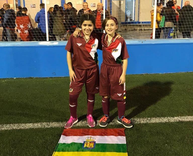 El paso de Ana Carvalho y Lara Rubio por el Campeonato de España Alevín con la selección riojana 8