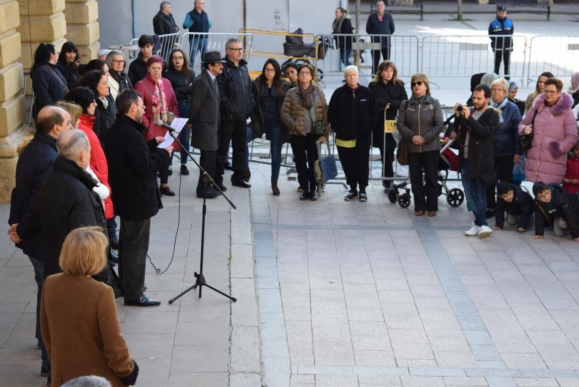 Las imágenes de la concentración en Haro con motivo del Día Internacional de la Mujer 6