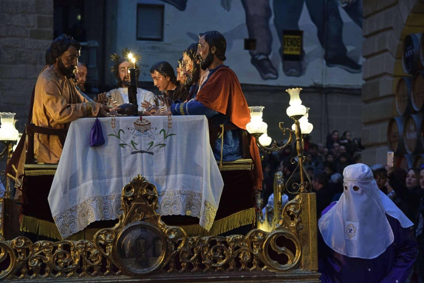 La Cofradía de la Santa Vera Cruz cierra los actos de la Semana Santa de Haro 1