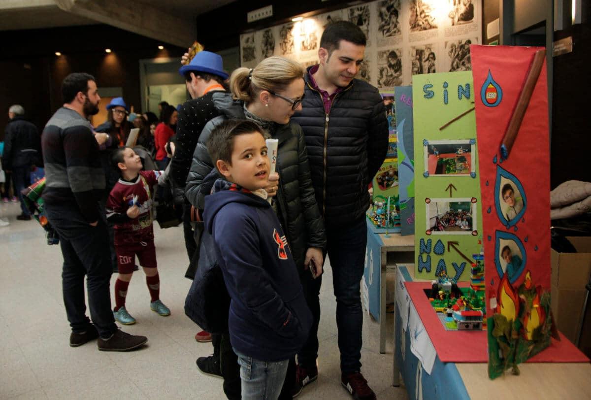 Premio para los Los Acuáticos del colegio San Lorenzo de Ezcaray en la Gran Final FIRST LEGO League España 19