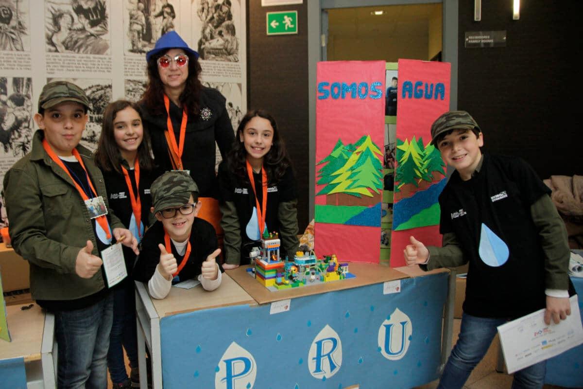 Premio para los Los Acuáticos del colegio San Lorenzo de Ezcaray en la Gran Final FIRST LEGO League España 20