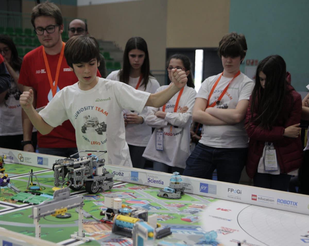 Premio para los Los Acuáticos del colegio San Lorenzo de Ezcaray en la Gran Final FIRST LEGO League España 28