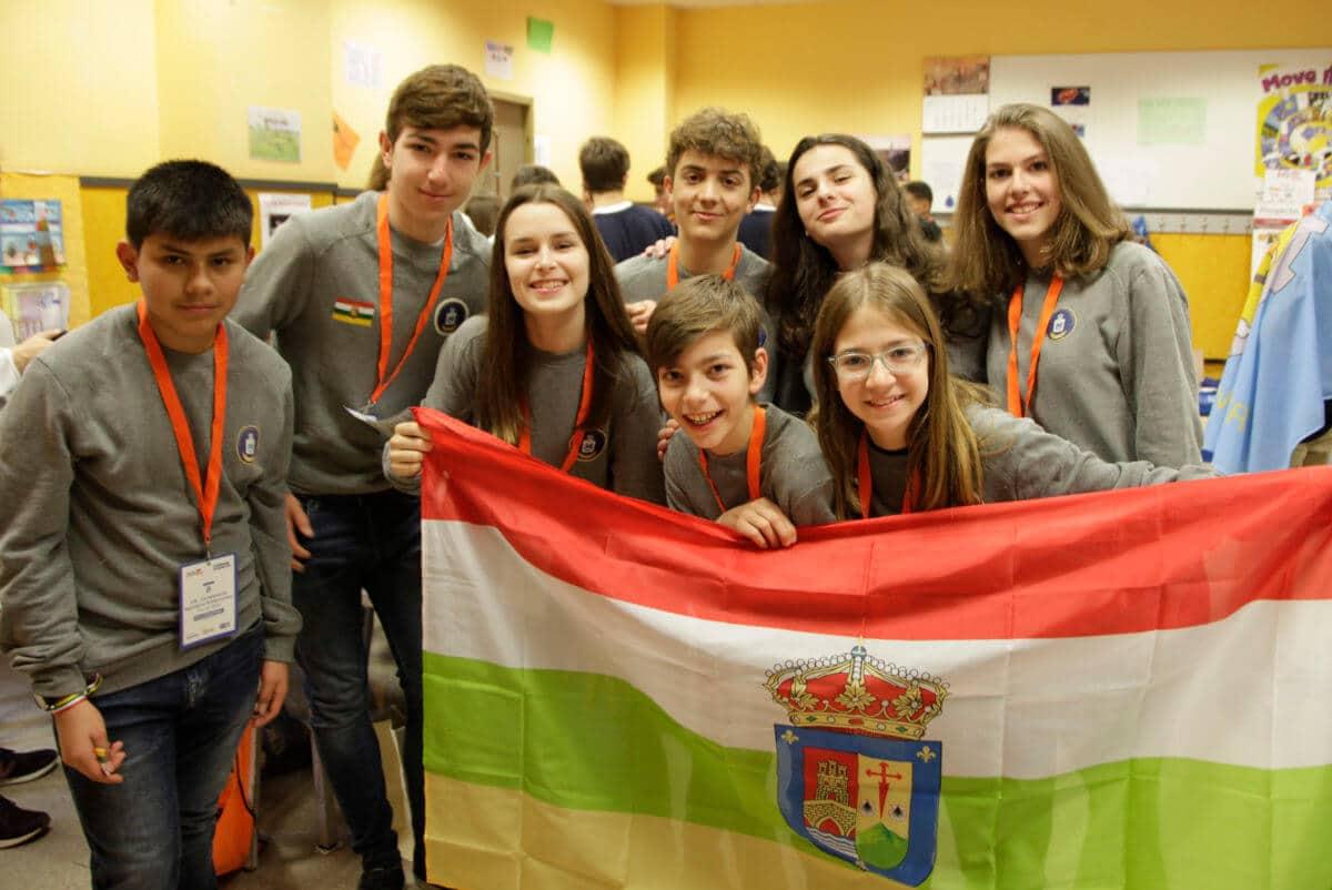 Premio para los Los Acuáticos del colegio San Lorenzo de Ezcaray en la Gran Final FIRST LEGO League España 3