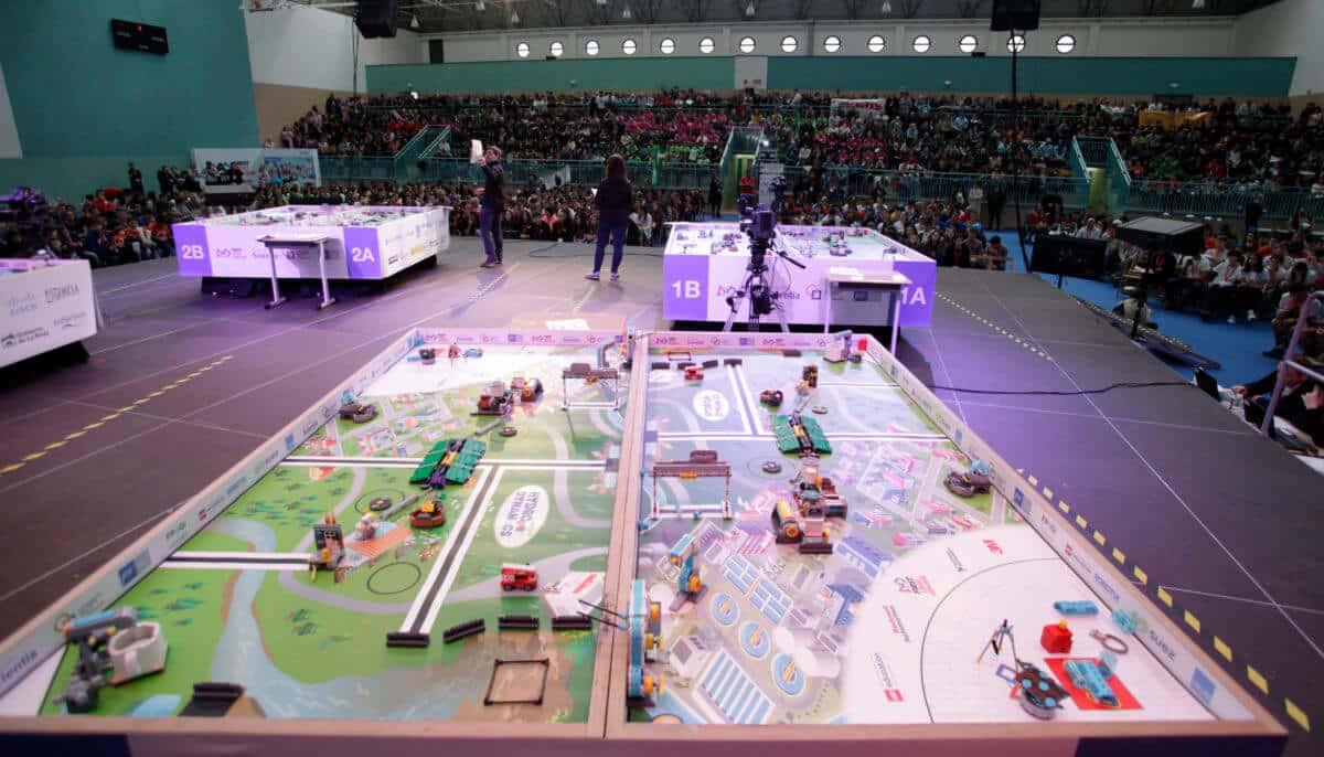 Premio para los Los Acuáticos del colegio San Lorenzo de Ezcaray en la Gran Final FIRST LEGO League España 9