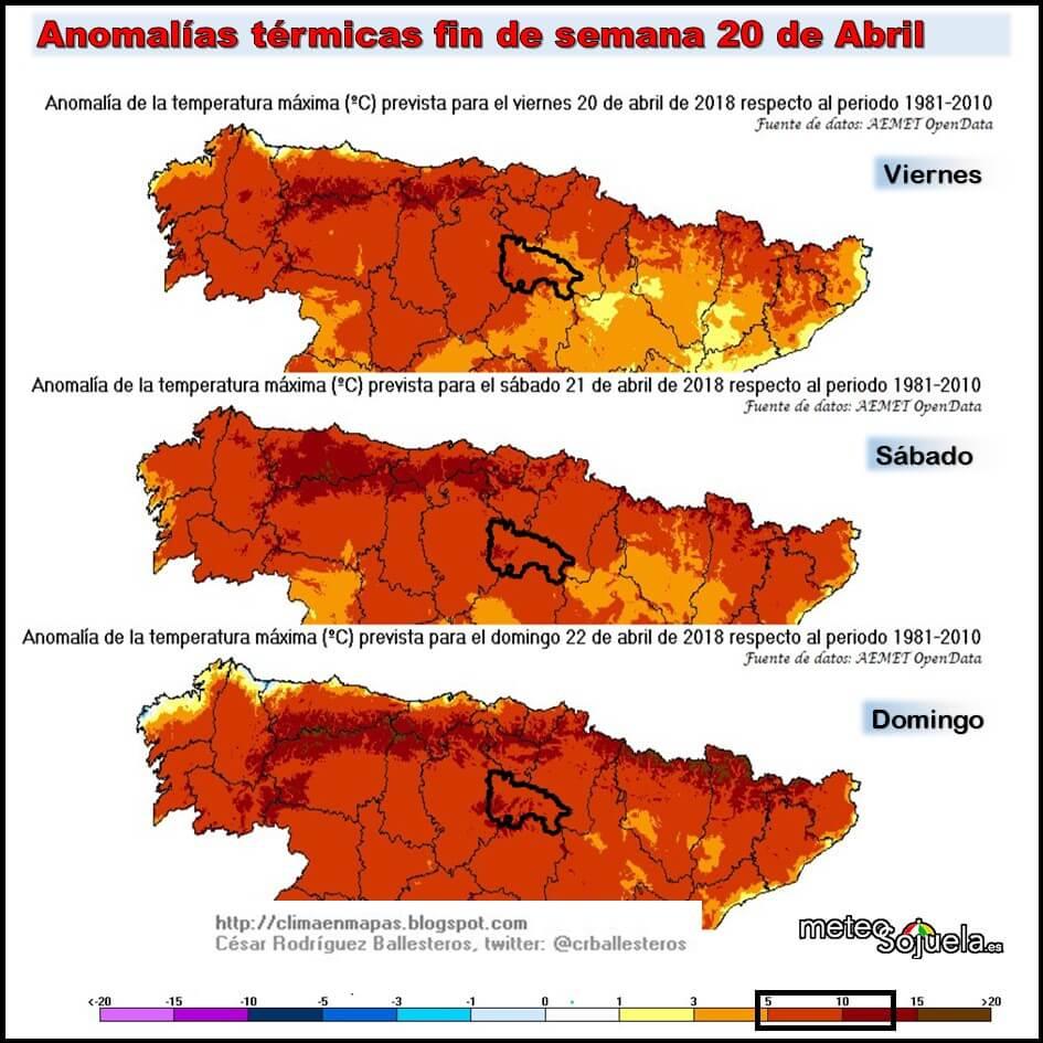 El tiempo primaveral y casi veraniego se instala en La Rioja 2
