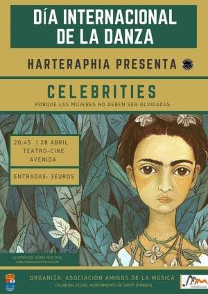 Harteraphia lleva a Santo Domingo de la Calzada su espectáculo 'Celebrities' 1