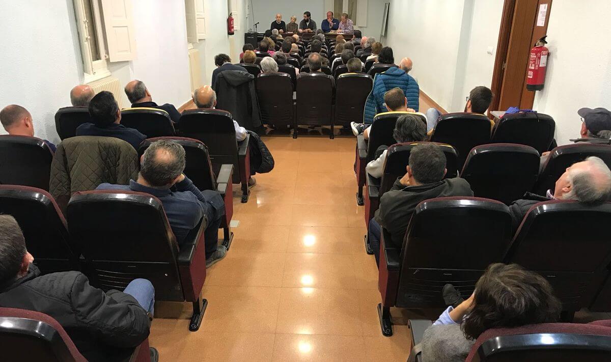 La comisión en contra del proyecto del AVE trasladará su postura a Fomento 2