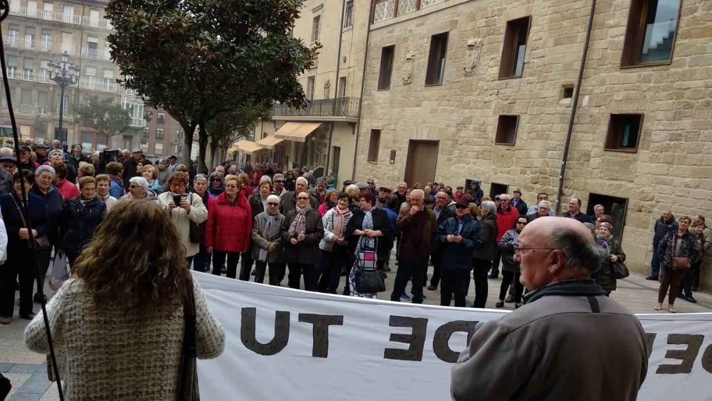 Zanahorias para Montoro, nueva protesta en Haro por unas pensiones dignas 2