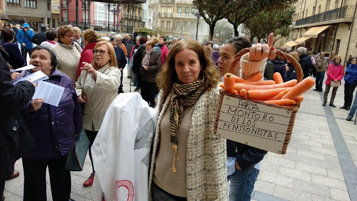 Zanahorias Para Montoro Nueva Protesta En Haro Por Unas
