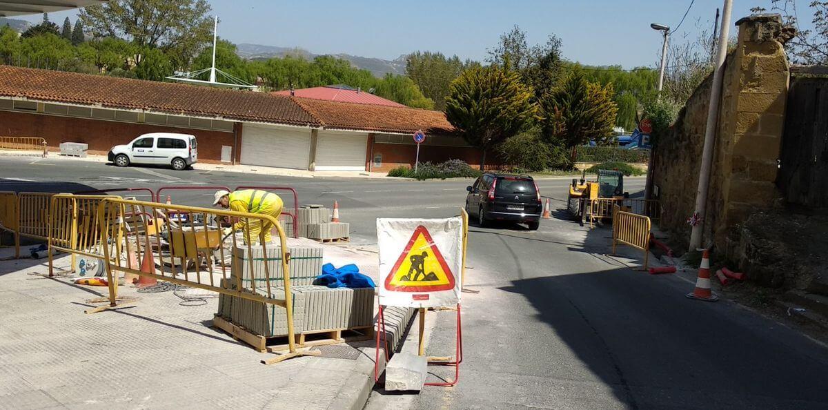 Se trabaja en Haro para suprimir barreras arquitectónicas en casi 30 pasos de peatones de la ciudad 1