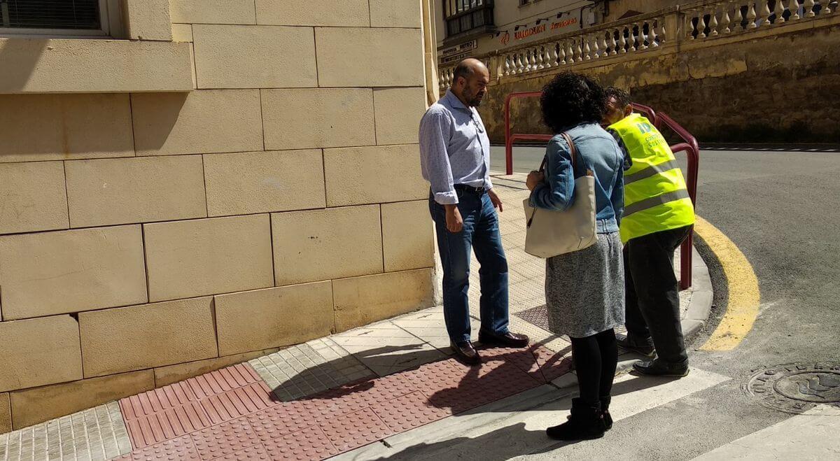 Se trabaja en Haro para suprimir barreras arquitectónicas en casi 30 pasos de peatones de la ciudad 2