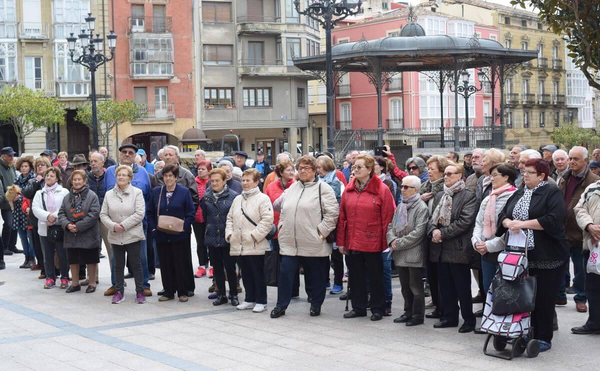 Zanahorias para Montoro, nueva protesta en Haro por unas pensiones dignas 10