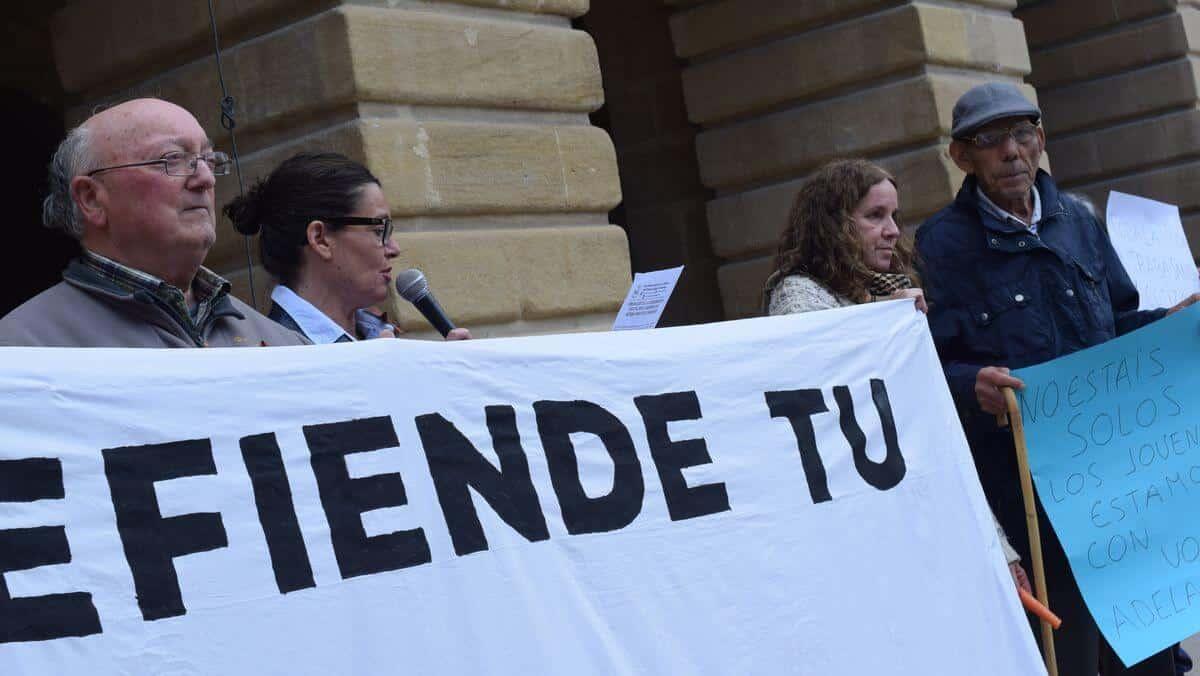 Zanahorias para Montoro, nueva protesta en Haro por unas pensiones dignas 9
