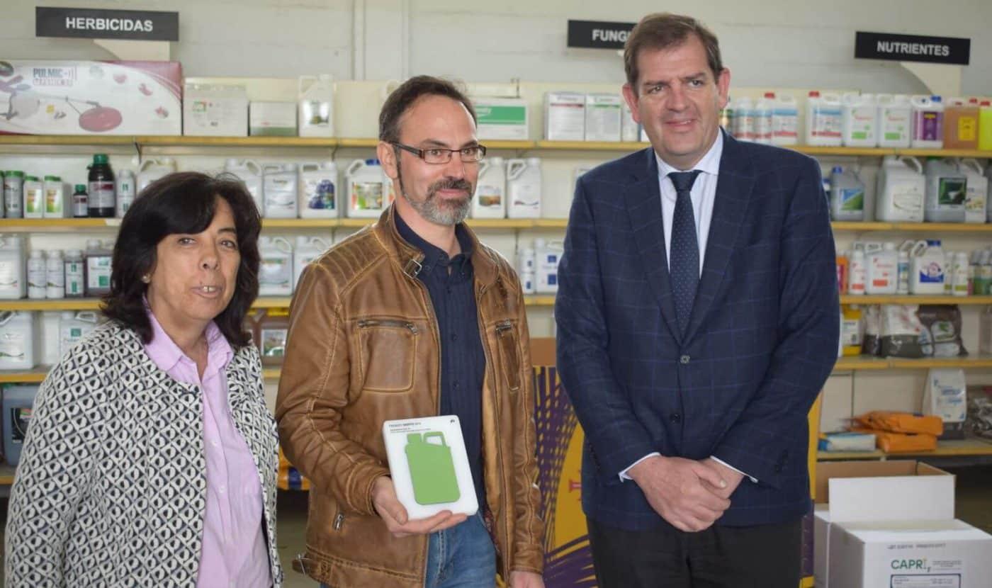 """Agroquímicos Arce de Haro recibe el premio SIGFITO """"por su compromiso ambiental"""" en el reciclaje de envases agrarios 4"""