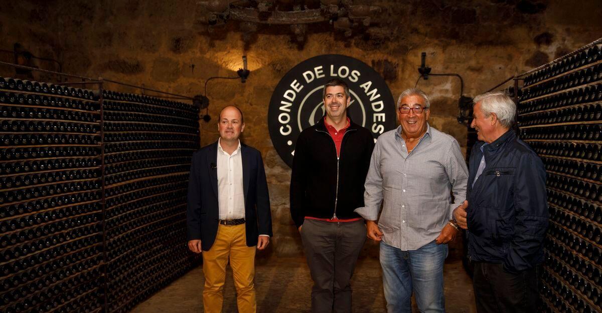 Conde de los Andes de Ollauri, escenario de la I Cata Internacional Premio Best Of de Turismo Vitivinícola 1