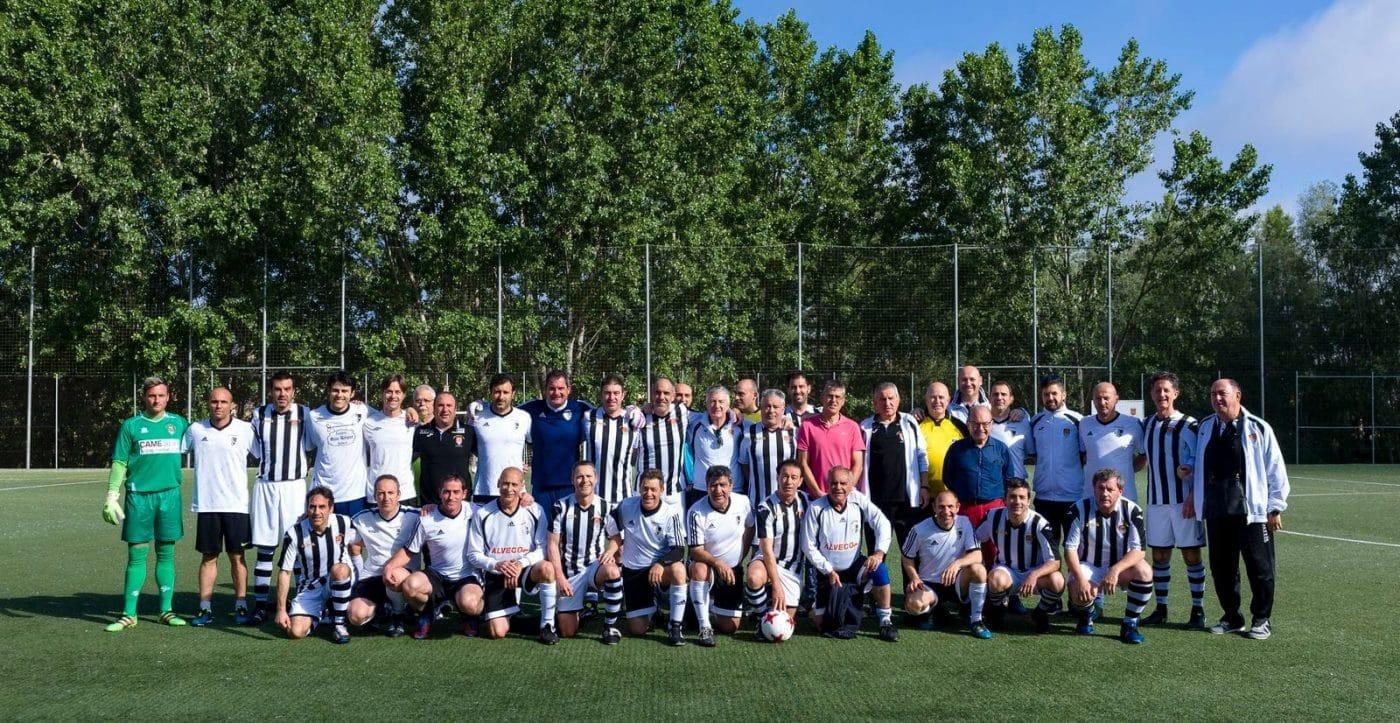 El CD Logroñés, campeón de la Copa Rioja Fútbol Veteranos disputada en Haro 2