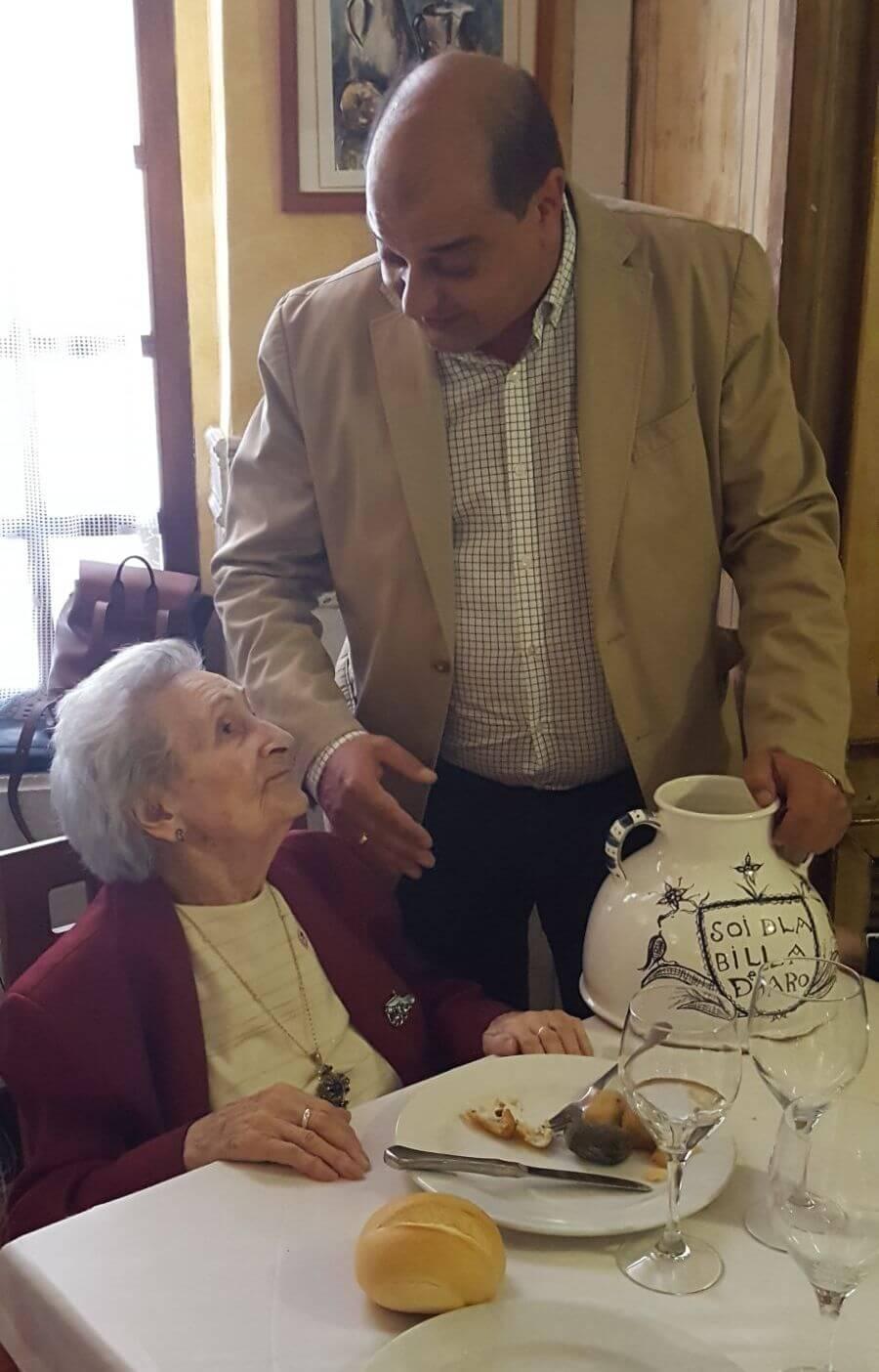 Fiesta por todo lo alto para celebrar los 100 años de Teresa Pérez del Hoyo 3