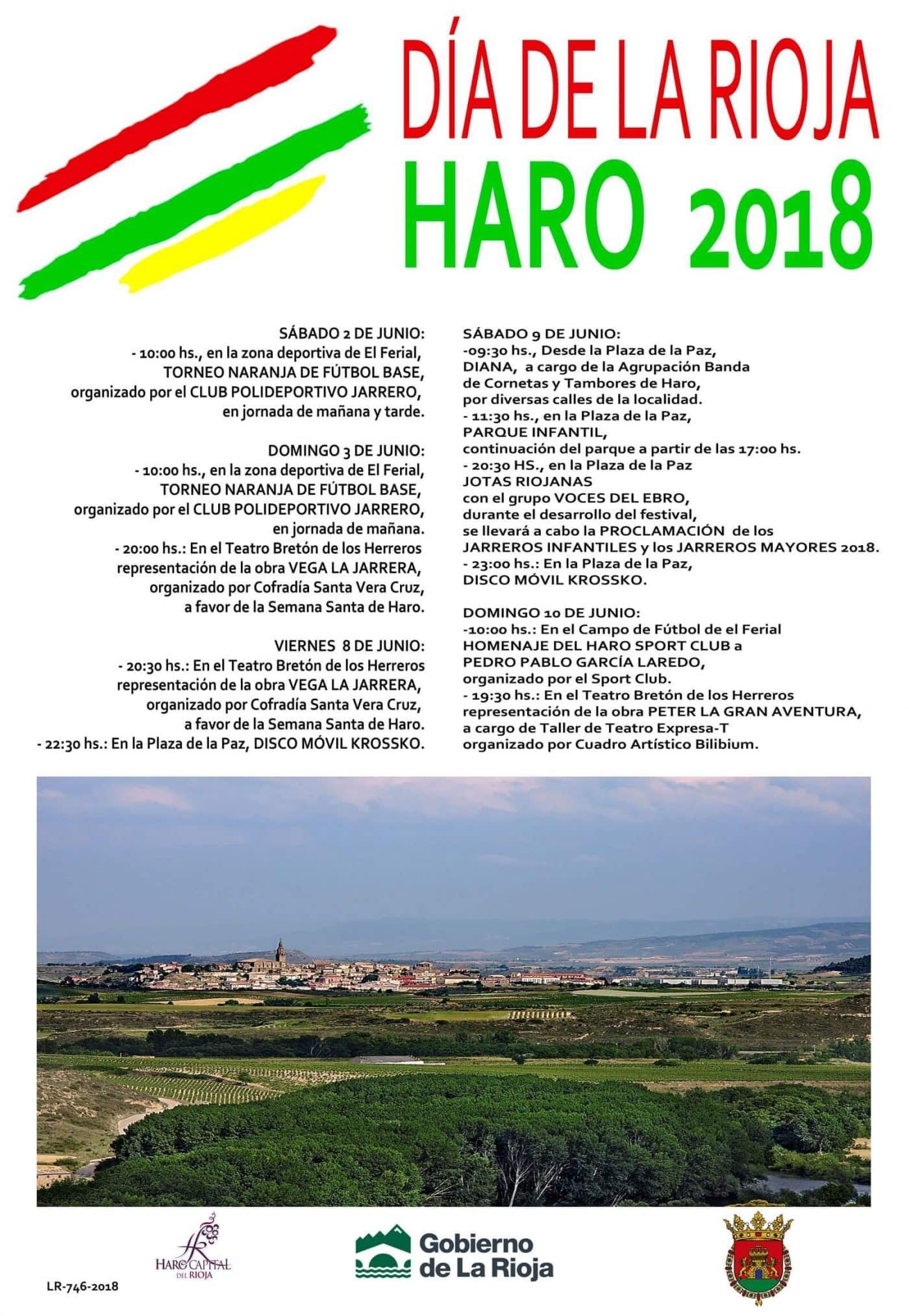 Haro comienza este viernes a celebrar el Día de La Rioja 1