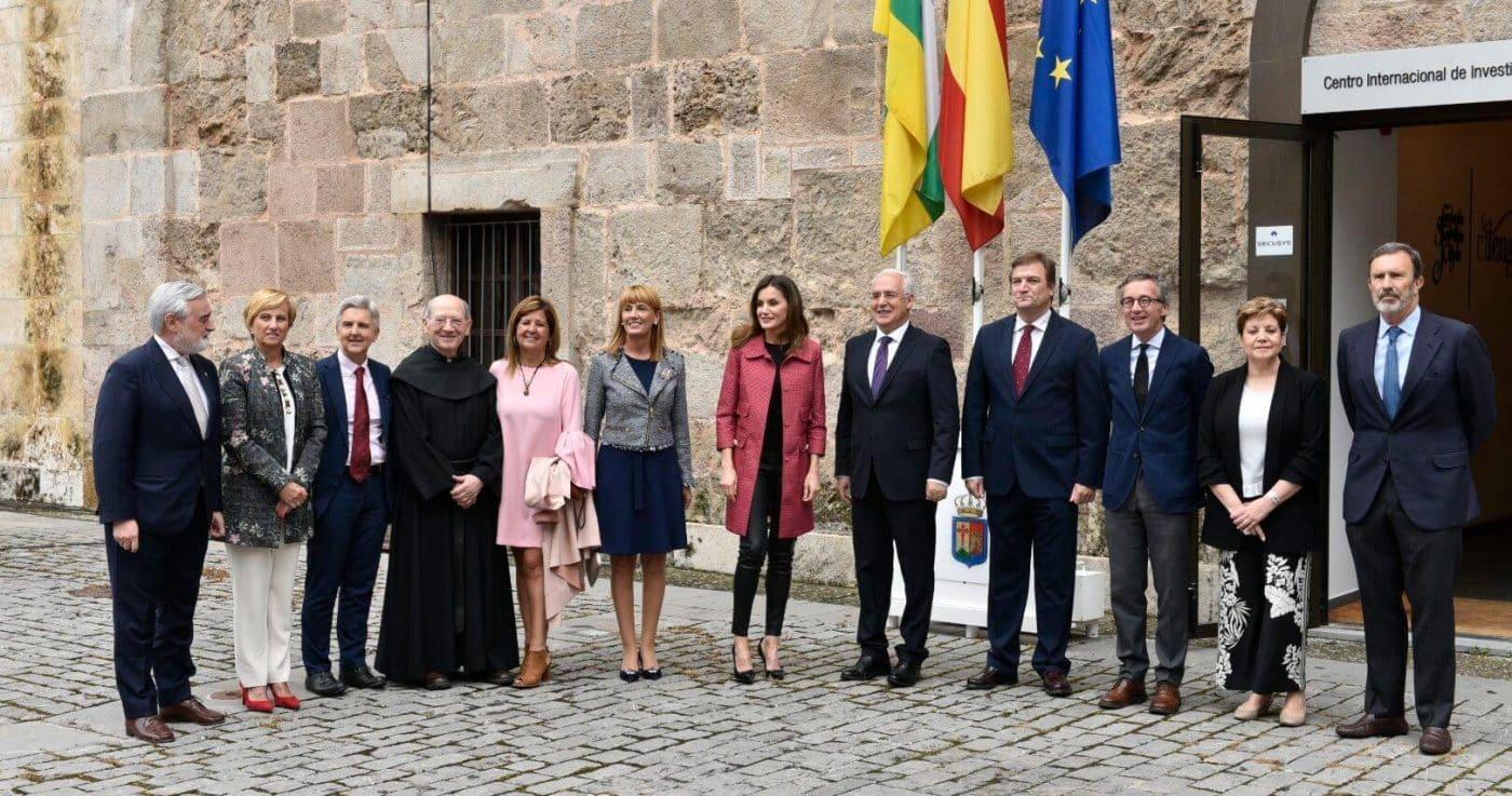 La reina Letizia inaugura en San Millán un seminario sobre el lenguaje en la era de la posverdad 2