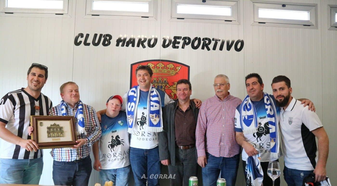 Las aficiones de Haro Deportivo y SD Borja dan todo un ejemplo de buen rollo 2