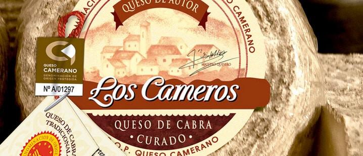 Los Cameros, galardonado con el primer y segundo premio en el prestigioso concurso nacional 'Gourmet Quesos' 1
