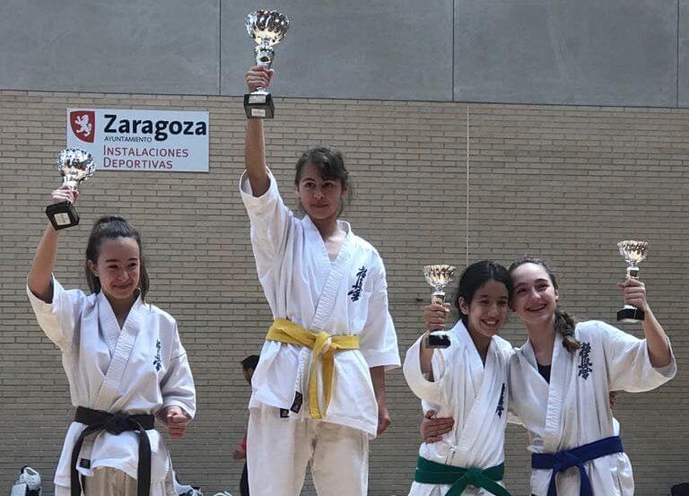 Ocho trofeos para el Kyoku Haro en la Copa Interautonómica de Zaragoza 2