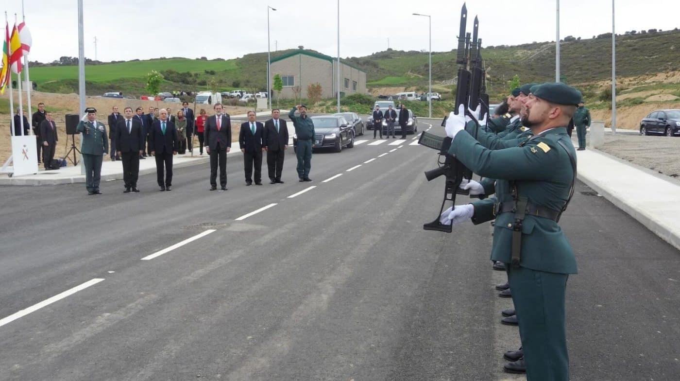 Rajoy inaugura en Logroño el Polígono de Experiencias para Fuerzas Especiales de la Guardia Civil 1