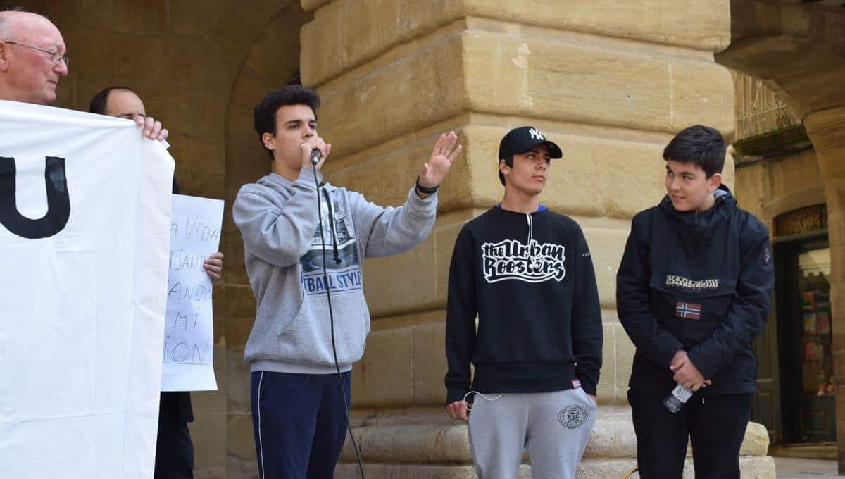 """Rap y chorizo para protestar en Haro """"por unas pensiones dignas"""" 5"""