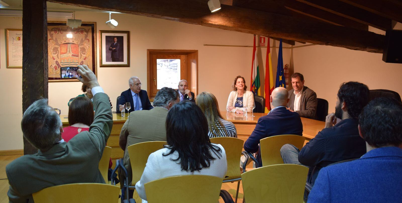 Arranca en San Vicente de la Sonsierra la asamblea general de Acevin 1