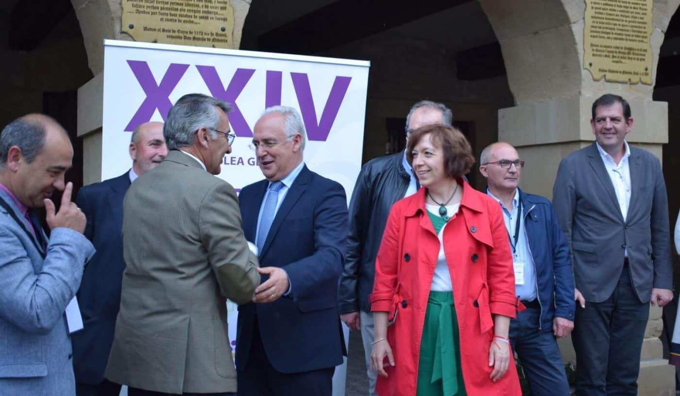 Arranca en San Vicente de la Sonsierra la asamblea general de Acevin 8