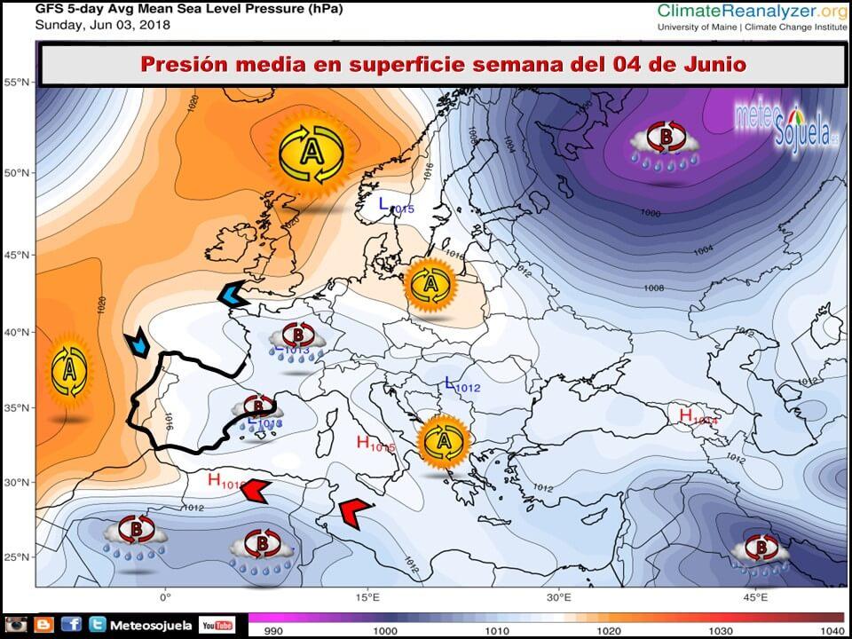 Junio arranca con más inestabilidad y previsión de lluvias y tormentas en La Rioja 3