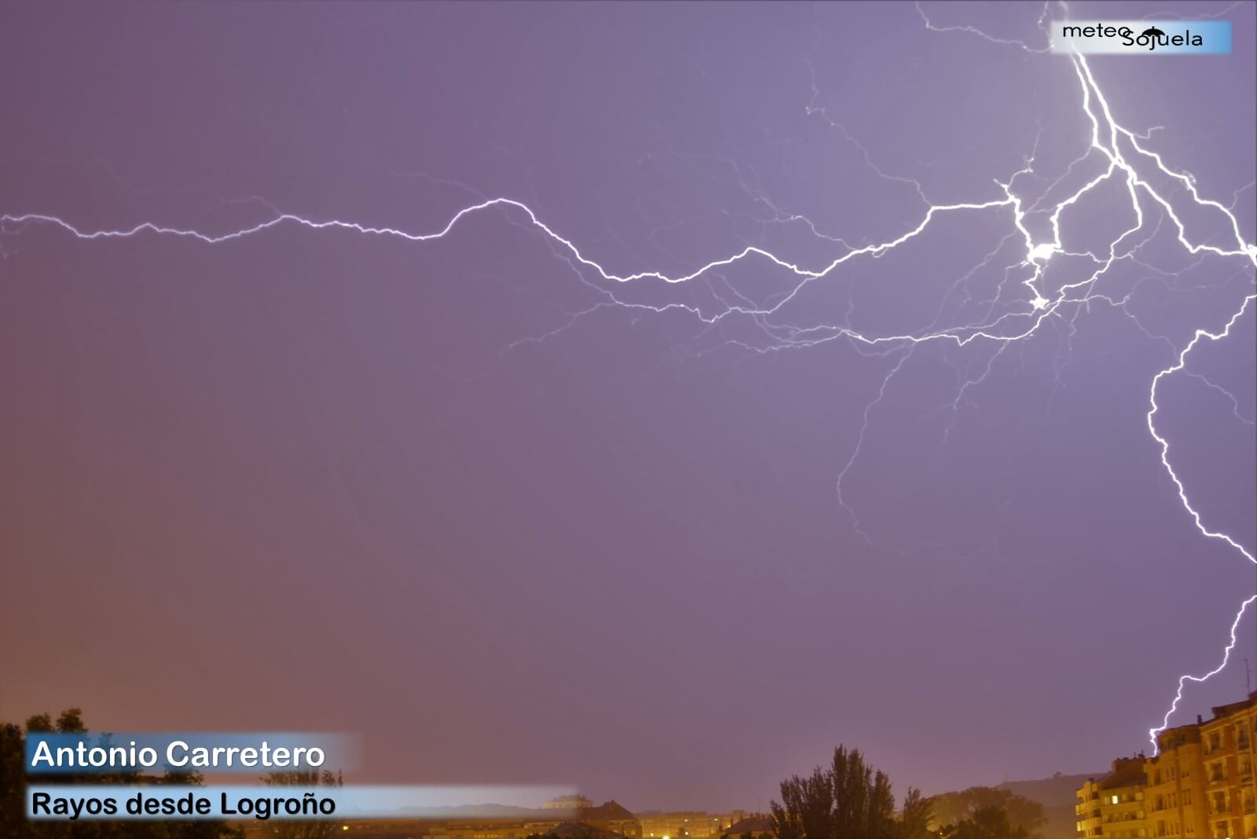 Junio arranca con más inestabilidad y previsión de lluvias y tormentas en La Rioja 6
