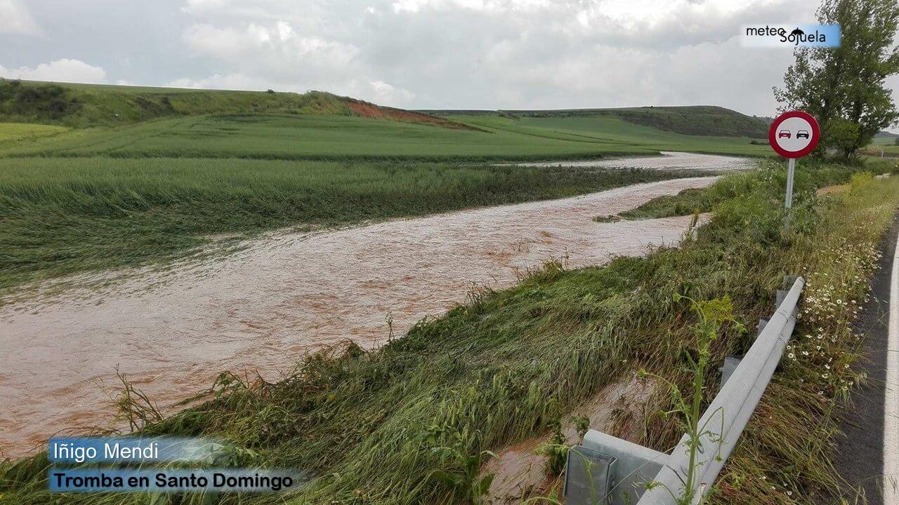 Junio arranca con más inestabilidad y previsión de lluvias y tormentas en La Rioja 8
