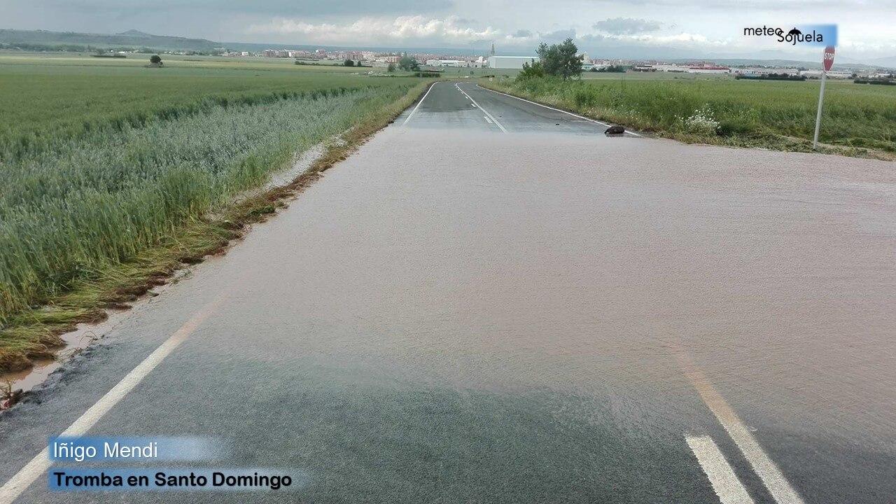 Junio arranca con más inestabilidad y previsión de lluvias y tormentas en La Rioja 9