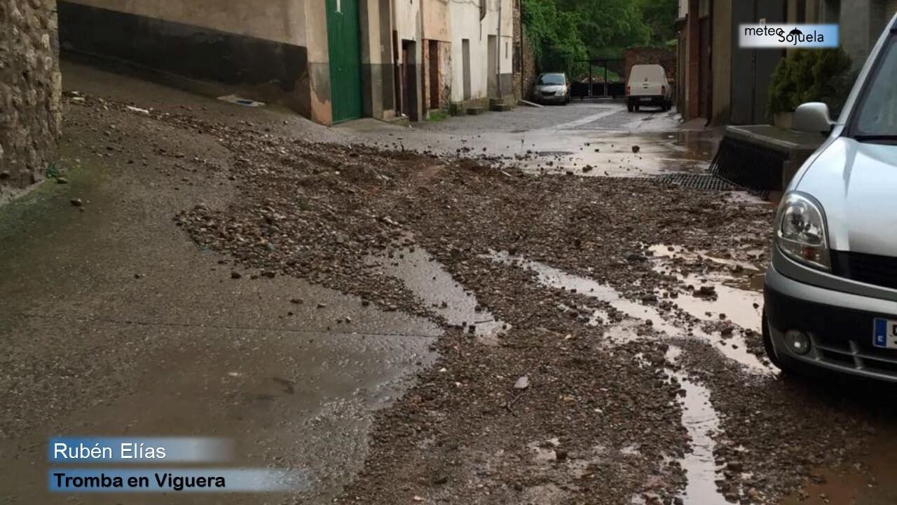 Junio arranca con más inestabilidad y previsión de lluvias y tormentas en La Rioja 10