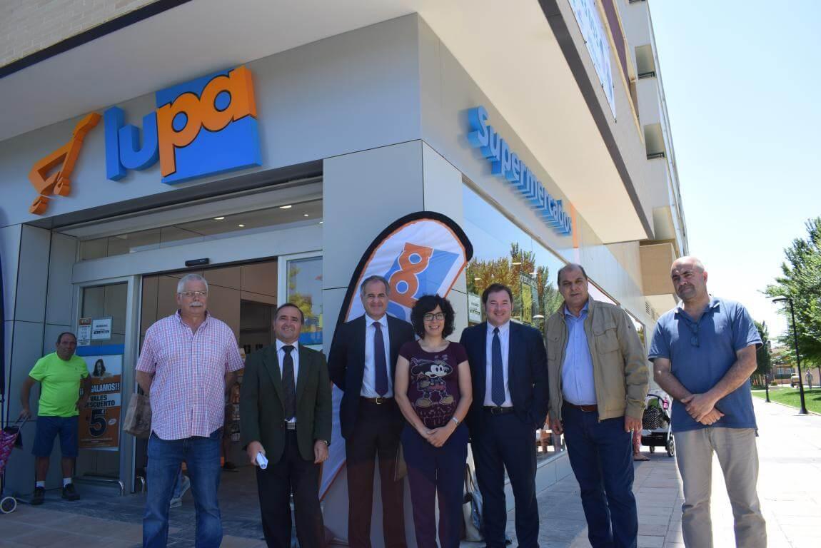 Lupa inaugura su nuevo supermercado en Haro 1