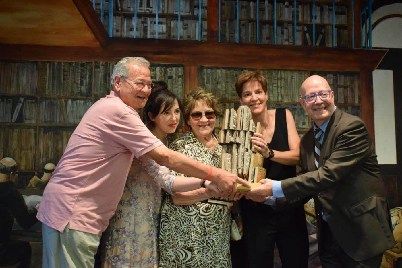 María Vargas, primera mujer en recibir el Premio Jarrerismo 13