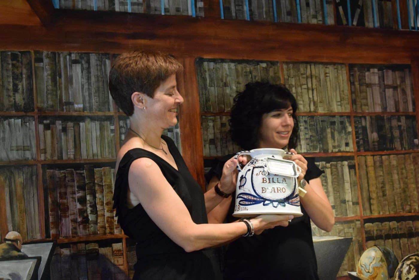 María Vargas, primera mujer en recibir el Premio Jarrerismo 5